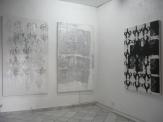 Frédéric Houvert // sans titre // technique mixte sur toile // 195 x 114 cm // 2010 // sans titre // technique mixte sur toile // 195 x 114 cm // 2008 // sans titre // technique mixte sur toile // 146 x 114 cm // 2006