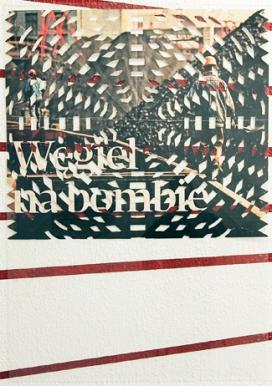 Karolina Kazmierska // Bomb on Coal // impression photo découpée collée sur une plaque de plexiglas // 2012