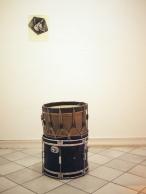 Grégory Le Lay // dessin, tambours, corne de vache