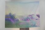 Faveur // Fanny Maugey // impression sur soie // 80 x 60 cm // 2013